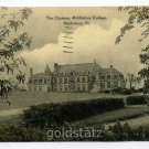 The Chateau Middlebury College Middlebury Vermont 1957 postcard