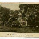 Home of James Russell Lowell Cambridge Massachusetts 1908 postcard