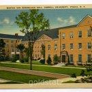 Martha Van Rensselaer Hall Cornell University Ithaca New York postcard