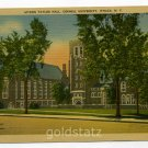 Myron Taylor Hall Cornell University Ithaca New York postcard