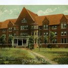 Dormitory Wheaton College Wheaton Illinois 1909 postcard