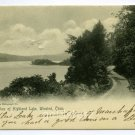 Highland Lake Winsted Connecticut 1905 postcard
