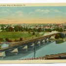Bird's Eye View of Norristown Montgomery County Pennsylvania postcard