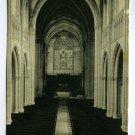 Interior of the Chapel Princeton University Princeton New Jersey postcard