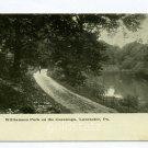 Williamson Park on the Conestoga River Lancaster Pennsylvania postcard