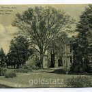 Shattuck Hall Williston Hall Mount Holyoke College South Hadley Massachusetts postcard