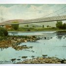 Fitch's Bridge Elmira New York 1908 postcard