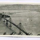 San Francisco Oakland Bay Bridge California postcard