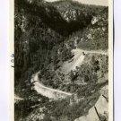 Switchbacks Oak Creek Highway Flagstaff Prescott Arizona RPPC postcard