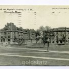 Folwell Hall Physical Laboratory University of Minnesota Minneapolis 1910 postcard