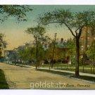 Drexel Boulevard Chicago Illinois 1911 postcard