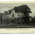 Woodlawn Park Club Chicago Illinois postcard