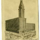 Montgomery Ward Building Chicago Illinois 1907 postcard