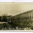 Water Falls Conowingo Dam Conowingo Maryland RPPC postcard
