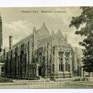 Madison Hall Princeton University New Jersey postcard