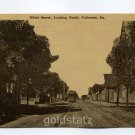 Third Street Fullerton Pennsylvania 1913 postcard