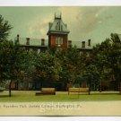 Founders Hall Juniata College Huntingdon Pennsylvania postcard