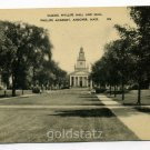 Samuel Phillips Hall and Mall Phillips Academy Andover Massachusetts postcard