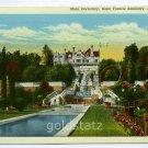 Main Dormitory Saint Francis Seminary Loretto Pennsylvania 1950 postcard