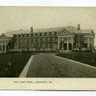 The Long Home Womens Home Lancaster Pennsylvania postcard