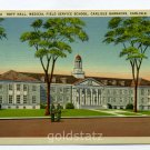 Hoff Hall Medical Field Service Carlisle Barracks Carlisle Pennsylvania 1942 postcard