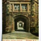 The Library Princeton University Princeton New Jersey postcard