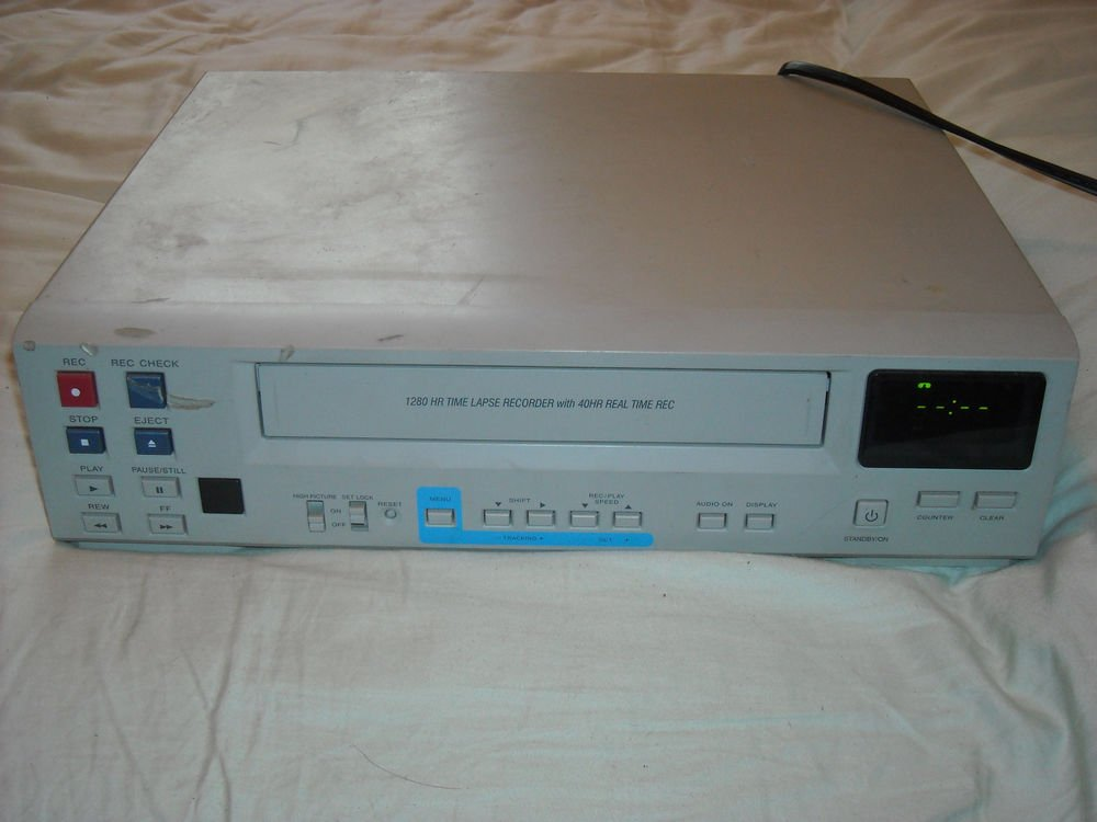 Daewoo t3dtlv1280 1280hr Time Lapse Video Cassette Recorder 40hr real time