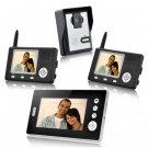Wireless Video Door Phone with Triple Receivers