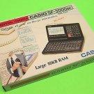 Vintage Casio SF-3000BK Digital Diary Calculator 18kb RAM SF3000 SF-3000