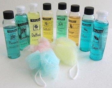 Lot Of 8 Healing Waters Shower Gel 4oz Varies Types