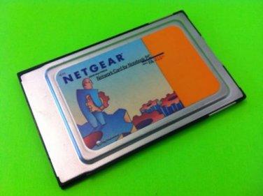Netgear 10/100 Mbps PCMCIA FA 410-TX Network Card PC