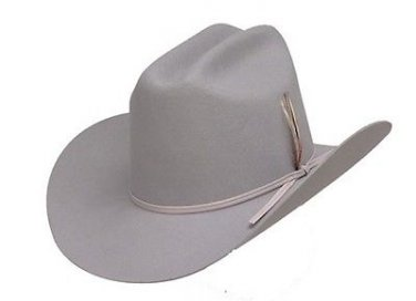 Western Men's Dallas Silver Sand Wool Felt Cowboy Hat Cattleman Rodeo - ALL SIZE