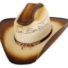 Western Gallup Straw Cowboy Hat with Claw Band Beige Color Adult & Kids S,M,L,XL