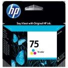 Genuine HP 75 Tri-Color Ink CartridgeCB337WN#140 (November 2011)