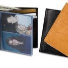 """Western Express Tall Smooth Leather BiFold Wallet 5"""" x 4.5"""" - Black Brown & Tan"""