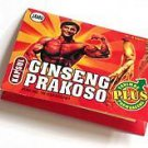 60  indonesian herb capsules Ginseng prakoso for male sexual stamina