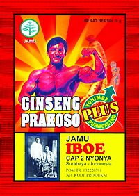 30 Packs of Ginseng Prakoso Plus for Male stamina & endurance indonesian herbs