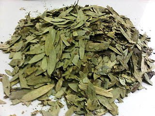 200 grams of dried senna leaves (Cassia angustifolia)