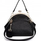 Spacious Modern Large Bag Black Shoulder Bag for Women Fashion Vogue Handbags