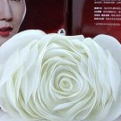 RSS Boutique White Clutch for Women Evening Purse for Bridesmaids Elegant Evening Handbags