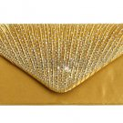 Yellow Clutch Junior Senior Prom Purse Envelope Type Laced RSS Fashion Yellow Purse for Women