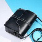 Black Leather Clutch Small Shoulder Bags Leather Bags RSS Fashion Back Totes for Women