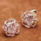 Stud Earrings Floral Pattern RSS 2018 Fashion Earrings Vintage Jewelry for Women