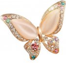 Opal Stone Butterfly Brooch Pins Brooch Birthday Gift Butterfly Animal Pins