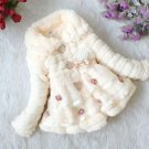 Buy Peach Color Coat Super Soft Winter Jacket for Little Girls  9-12mos, 12-18mos,2t,3t