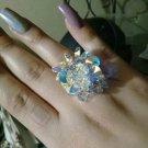 Adjustable Ring Radiance Gradient Multi-Stones Austrian Stones Crystals Adjustable Rings