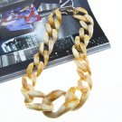 Ultra Big Chain Necklaces Chunky Beige Necklace for Women Linked Chains Fashion Big Bibs