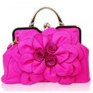 Ready to Ship RSS 2018 Hot Pink Shoulder Bags with Luxury Pink Totes for Women