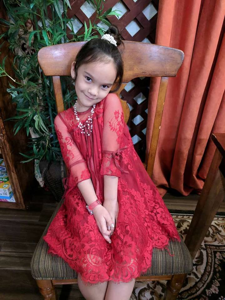 Red Tutu Dress Embroidery Laced 6T Toddler Red Formal Dress Photography Props Embroidery