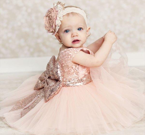 RSS Boutique 4T Baby Dress Pink Tutu Dress FREE SHIPPING FREE Bow Headband